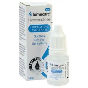 (Bundle of 2 bot) Lumecare Hypromellose 0.3% Eye Drops 10mL