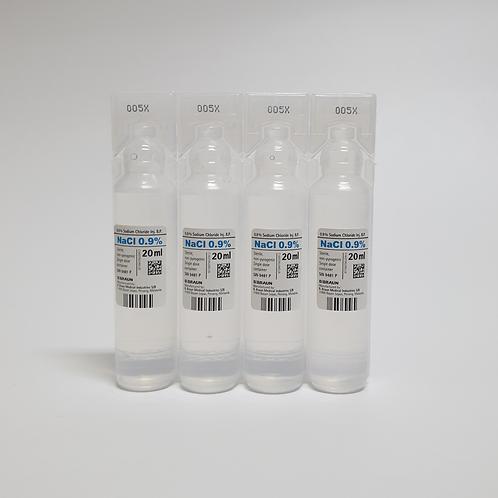 Sodium Chloride 0.9% Inj 20mL (20's)