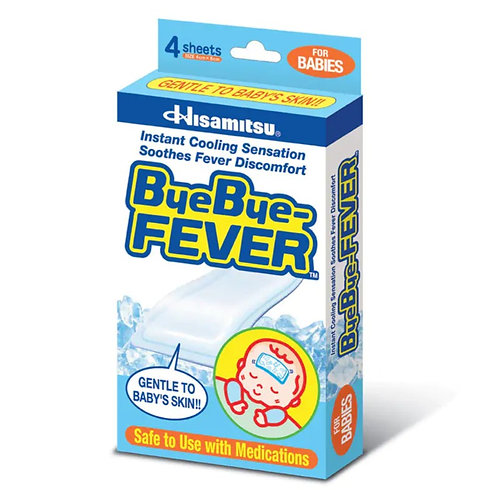 (Price of 2 Packets) Bye Bye Fever (Baby) 4's