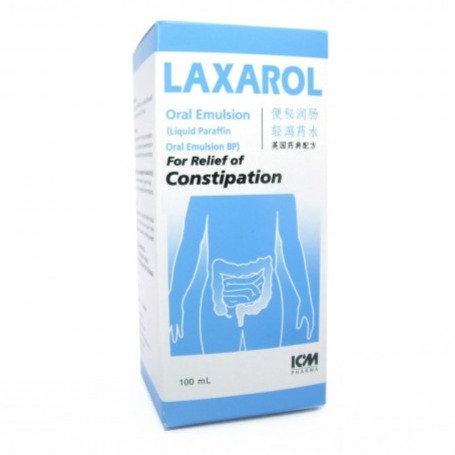 Liquid Paraffin 50% Oral Emulsion 100mL