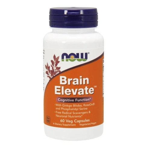 NOW Brain Elevate Formula 60's Veg Caps