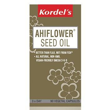 Kordel's Ahiflower® Seed Oil Vegetal Capsules 90's