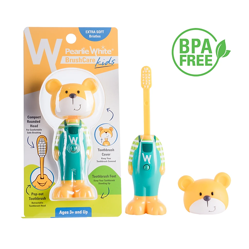 Pearlie White Kids Toothbrush Bear