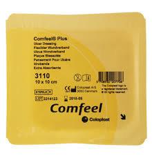 Comfeel Plus Ulcer Dressing 10x10cm (3110) 10's