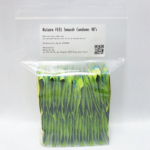 Nulatex FEEL Smooth Condoms 48's