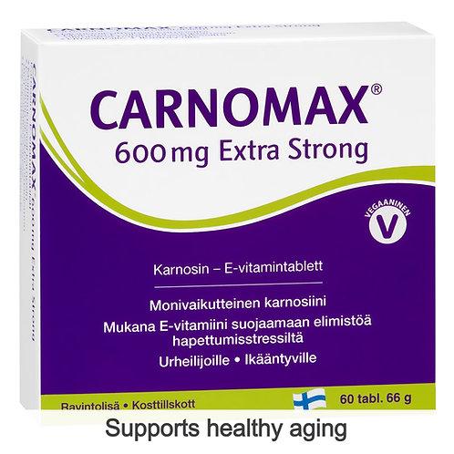 Hankintatukku Carnomax 600mg Extra Strong tabs 60's
