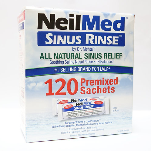 NeilMed Sinus Rinse 120 Sachets (Regular)