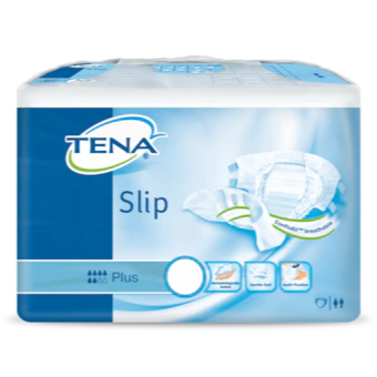 (Bundle of 2) TENA Slip Plus Medium Carton (6 packs x 12's)