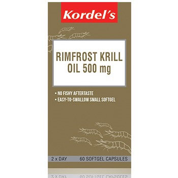 Kordel's Rimfrost Krill Oil 500mg Softgels 60's