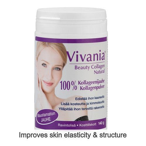 Hankintatukku Vivania Beauty Collagen Natural Powder 140g