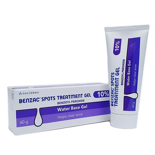 Benzac Spots Treatment Gel 10% 60g