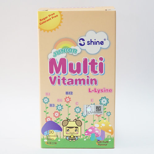 SHINE Junior Multivitamin Tablet 100's