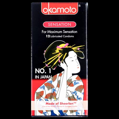 Okamoto Sensation Condoms 12's