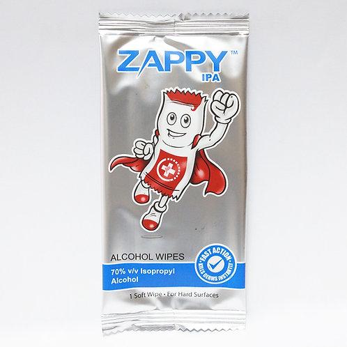 Zappy IPA Alcohol Wipes 200's