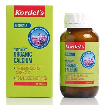 Kordel's Aquamin Organic Calcium tablets 60's