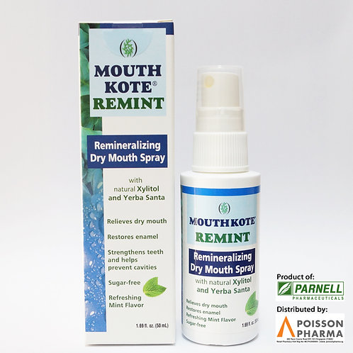 Mouth Kote Remint Remineralizing Dry Mouth Spray 50mL