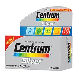 Centrum Silver Advance Tablet 100's