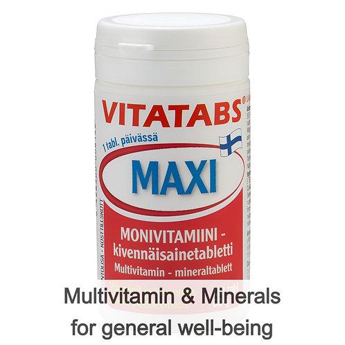 Hankintatukku Vitatabs Maxi tabs 120's