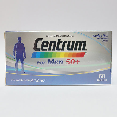 Centrum® For Men 50+ tablet 60's