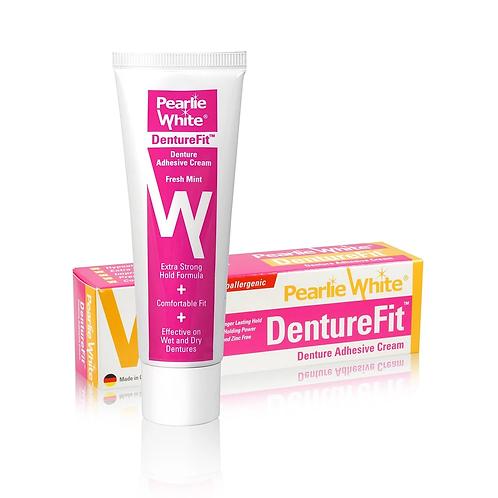 Pearlie White DentureFit Denture Adhesive Cream 40g
