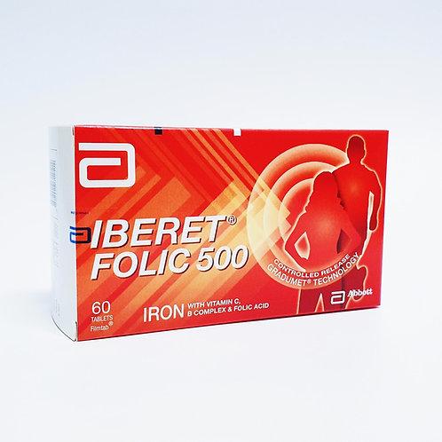 Iberet Folic 500 60's