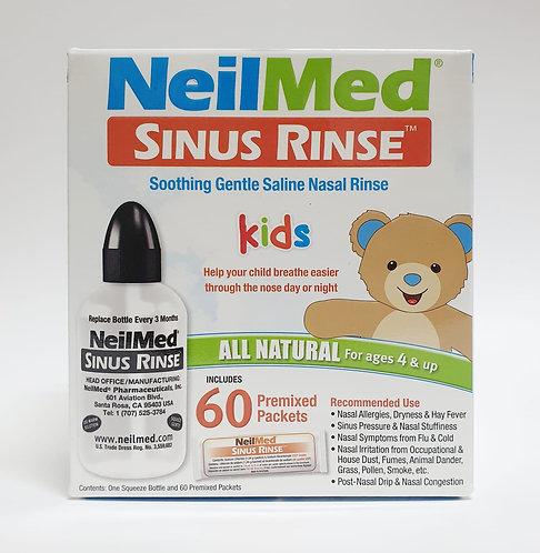 NeilMed Sinus Rinse Kit w 60 sachets (KIDS)