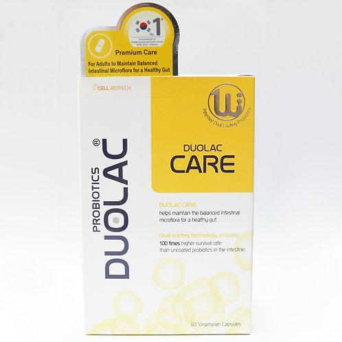 DUOLAC Care Premium Probiotic Capsules 60's