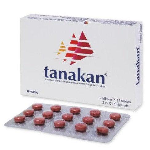 Tanakan 40mg Tablets 30's