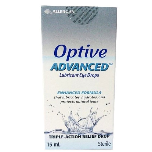 Optive Advanced Eye Drops 15mL