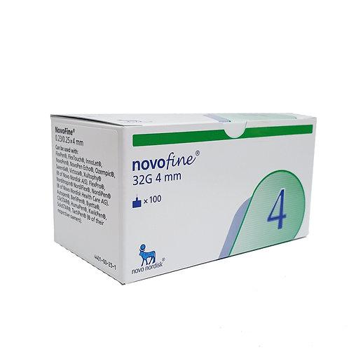 Novofine 32G 4mm 100's
