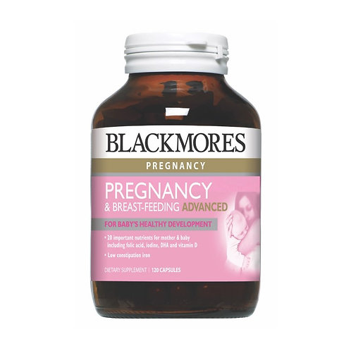 Blackmores Pregnancy & Breastfeeding Advanced Capsules 120's