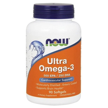NOW Ultra Omega-3 Fish Oil 90's Softgels