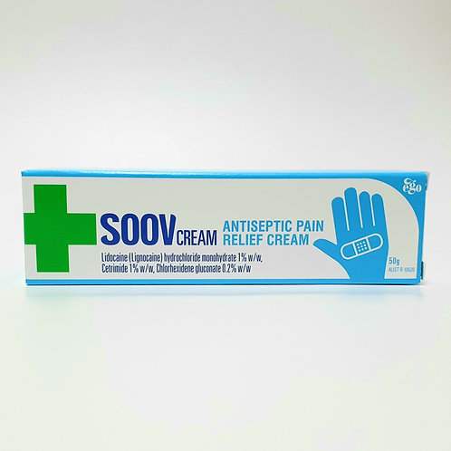 (Bundle of 2 tubes) Ego Soov Cream 50g