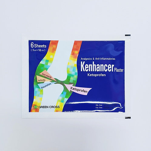 (Bundle of 5 packets) Ketoprofen 30mg Patch 6's (KENHANCER)