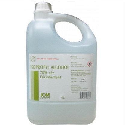 Isopropyl Alcohol 70% 4L