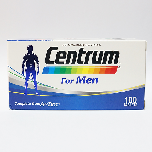 CENTRUM For Men tablet 100's