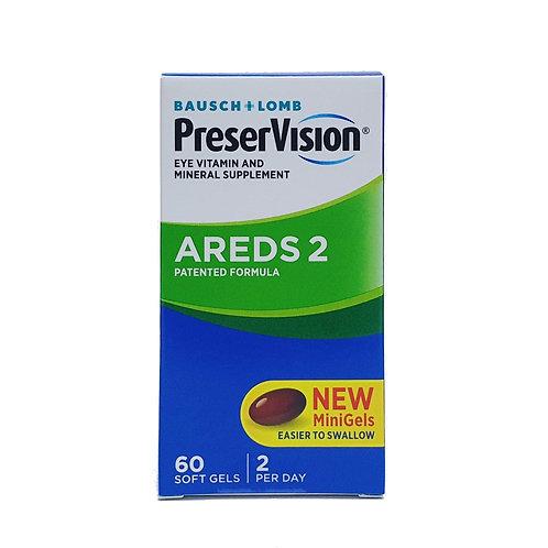 PreserVision AREDS 2 MiniGel 60's