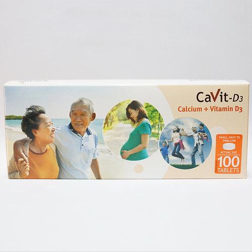 (Bundle of 2 boxes) CaVit-D3 Tablets 100's