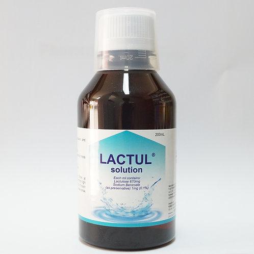 (Bundle of 2 bottles) Lactulose 67% Oral Solution (Lactul) 200mL