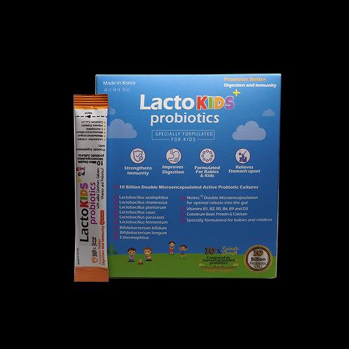 LactoKids+ Probiotics Sachets 60's
