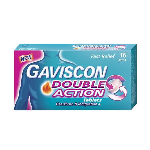Gaviscon Double Action 250mg Tablets 16's