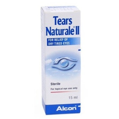 (Bundle of 2 bottles) Tears Naturale II Eye Drops 15mL