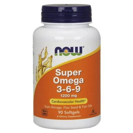 NOW Super Omega 3-6-9 1200mg 90's Softgels