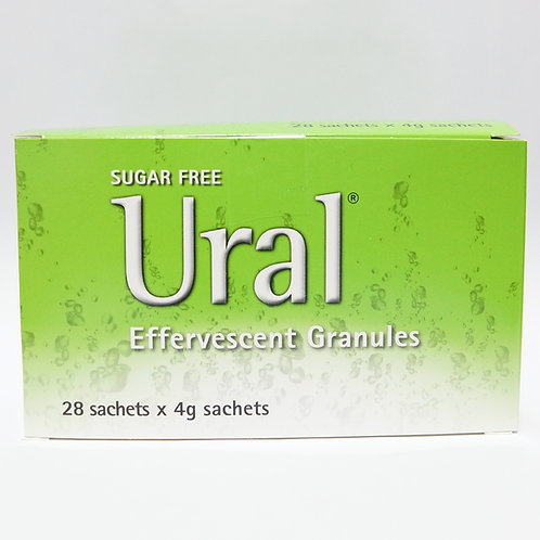 Ural Efferv Granules 4g Sachet 28's
