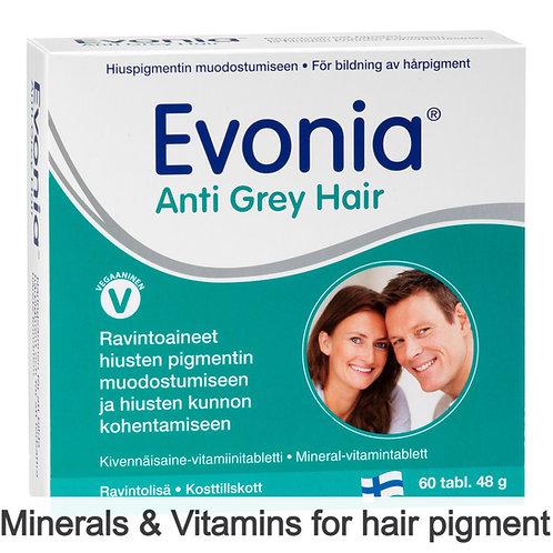 Hankintatukku Evonia Anti Grey Hair tabs 60's