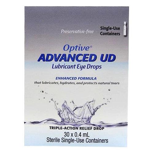 Optive Advanced 0.4mL Eye Drops 30's