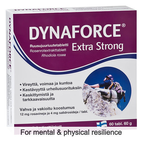 Hankintatukku Dynaforce Extra Strong tabs 60's