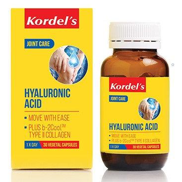 Kordel's Hyaluronic Acid Vegetal Capsules 30's