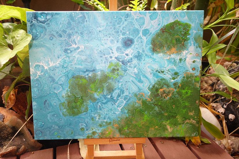 Mangroves at High Tide No 2