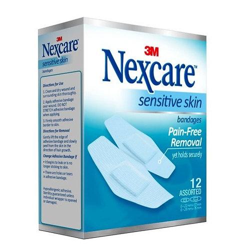 Nexcare Sensitive Bandages 12's